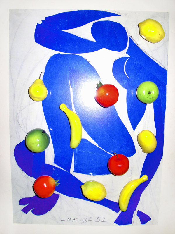 Fake fruits on Matisse 2014